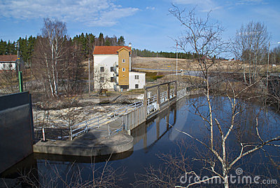 Hydroelectric power plants, The dam.