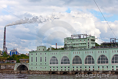 HYDROELECTRIC POWER station-hydro power station