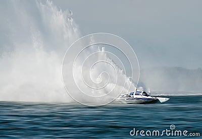 Hydrofoil Boat Race