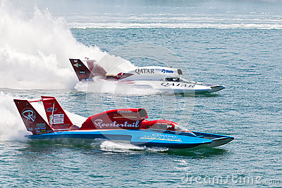 Hydroplane Racing Editorial Stock Photo