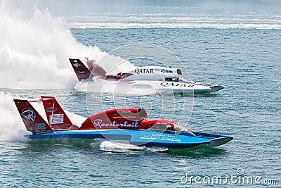 Hydroplane Racing Editorial Stock Photo