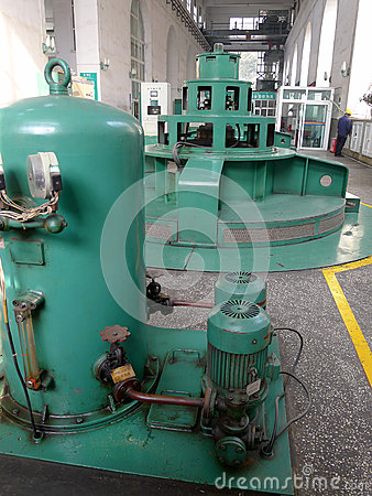 Hydropower Station Editorial Stock Image