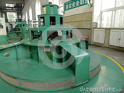 Hydropower Station Editorial Stock Photo