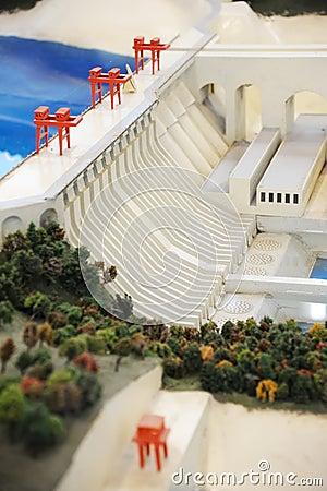 Hydropower Station model