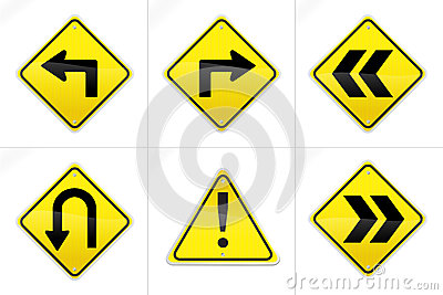 Hyper Realistic Vector Road Signs 2