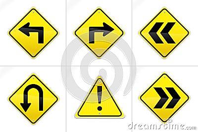 Hyper Realistic Vector Road Signs 2