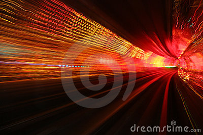 Hypnotic tunnel