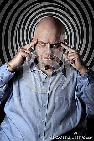 Hypnotisches Anstarren