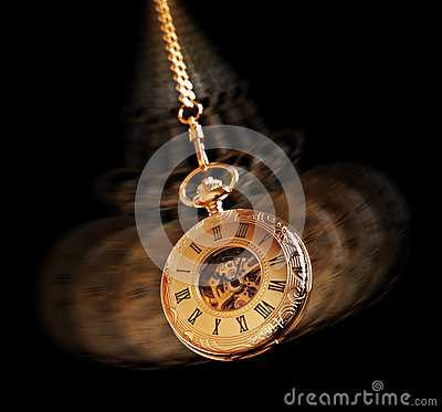 Free Hypnotizing Pocket Watch Stock Photos - 26666933