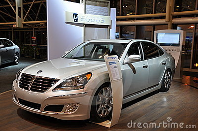 Hyundai Equus Editorial Photography