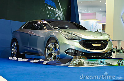 Hyundai iflow concept car Editorial Photography
