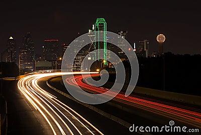 I 30 into Dallas