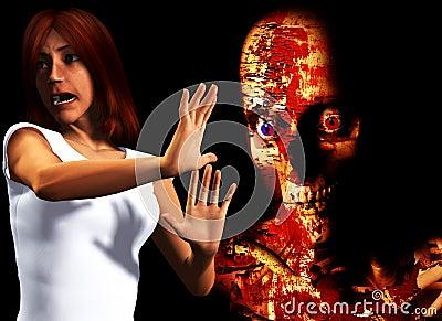 I Am Afraid Of Zombies