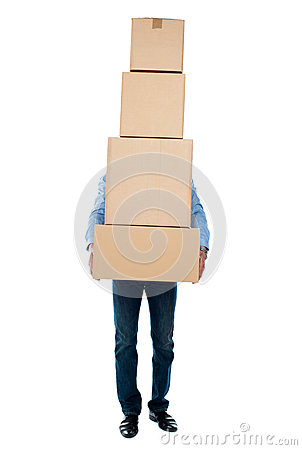 Free I Am Overloaded, Help Me! Royalty Free Stock Photos - 25261868