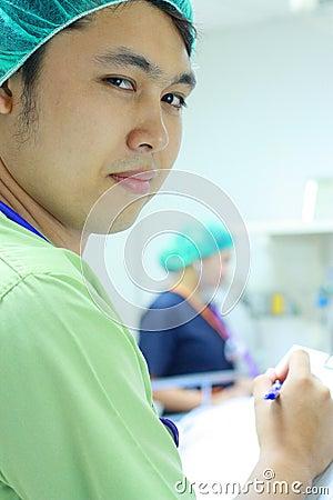 I.C.U. nurses