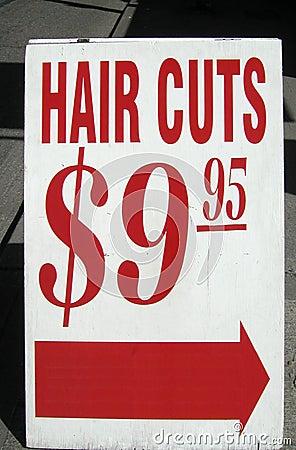 I capelli tagliano il segno