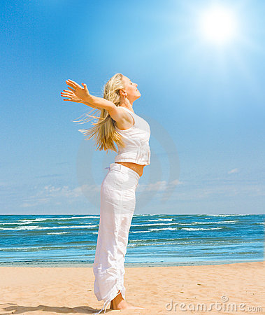 Free I Feel The Sun On My Skin Stock Photography - 6248082