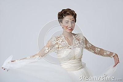 I am a happy bride