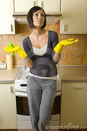 Free I Have Enough Houseworks Stock Photo - 4494500