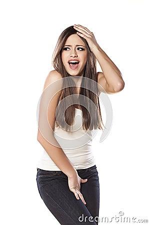 sturgis girl need to pee