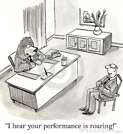 I hear your performance is roaring along