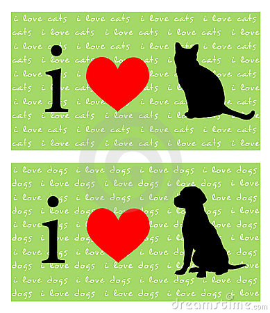 I Heart Cats and Dogs