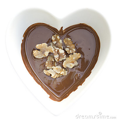 I heart chocolate and walnuts