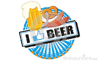 I like beer Editorial Stock Photo