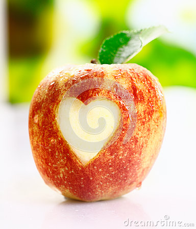 I love apples