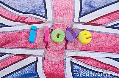 I love Britain: possible logo?