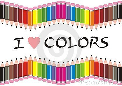 I Love Colors Pencils