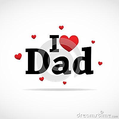 I love Dad icon.