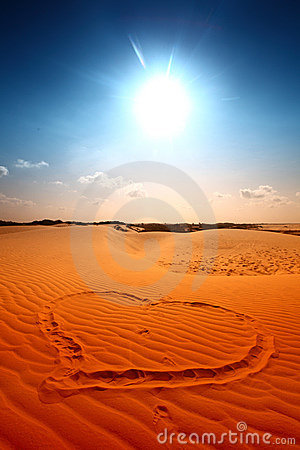 Free I Love Desert Stock Photography - 8175242