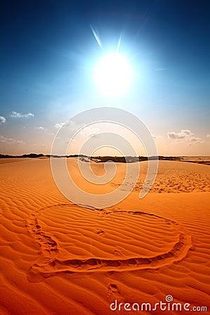 I love desert