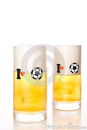 Free I Love Football (soccer) Royalty Free Stock Photography - 14682017