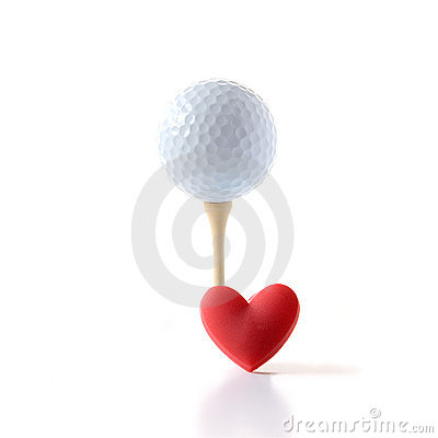 Free I Love Golf Stock Photography - 23189342