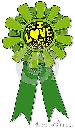 I love Green Ribbons