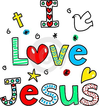 Free I Love Jesus Royalty Free Stock Photography - 9759597