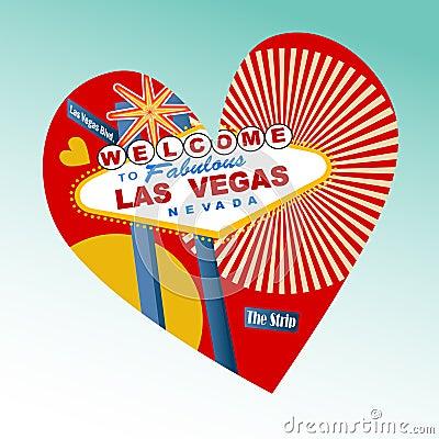 I love Las Vegas Icon