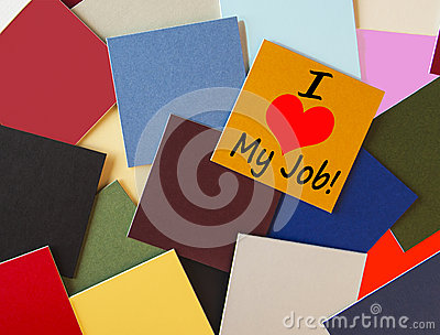 I Love My Job! For Business, Teaching, Office & Workers everywhe