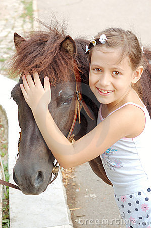 Free I Love My Pony Royalty Free Stock Photo - 3515825