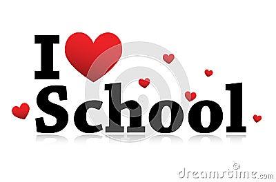 I Love School icon