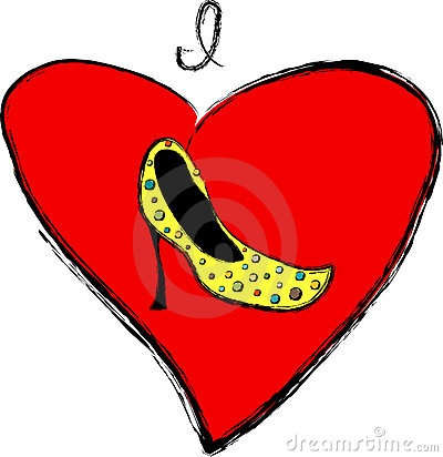 I Love Shoes Sign
