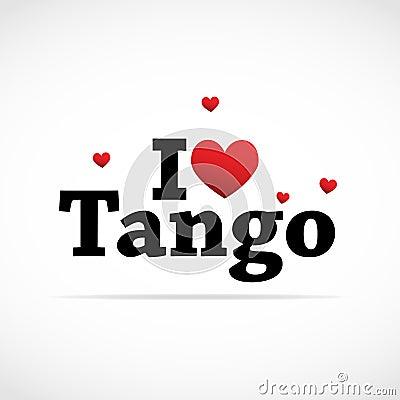 I Love Tango icon.