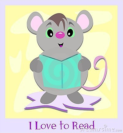 I Love to Read Mouse