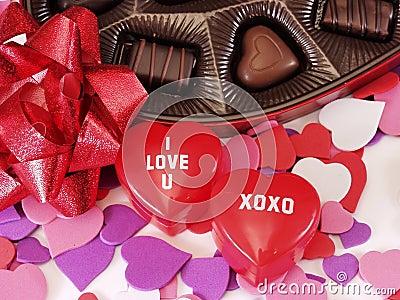 I Love U XOXO Hearts