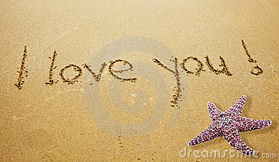 I LOVE YOU Stock Image - Image: 21207301