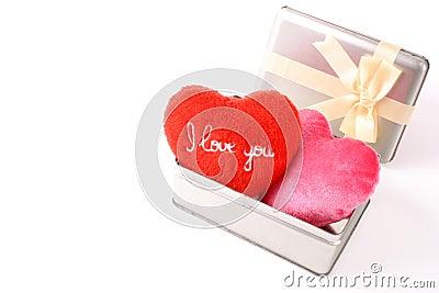 I love you in a box