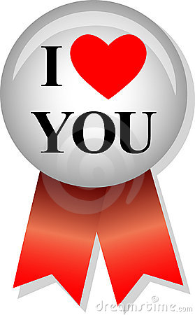 Free I Love You/eps Stock Images - 5731244