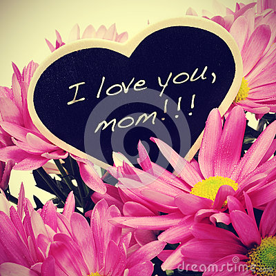 Free I Love You, Mom Stock Images - 30050324